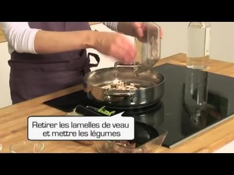 Recette blanquette de veau sur orange vid os - Blanquette de veau express ...