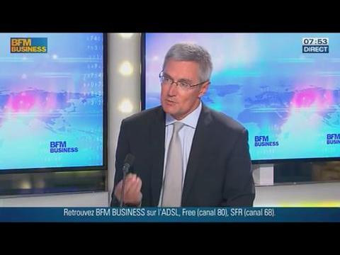 L'?influence de l?'évolution des marchés obligataires : Didier Saint-Georges dans GMB - 26/09