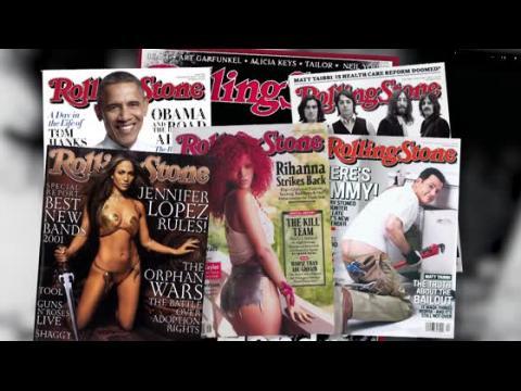 Les stars se déshabillent pour la couverture de Rolling Stone