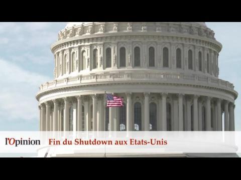Fin du Shutdown aux Etats-Unis