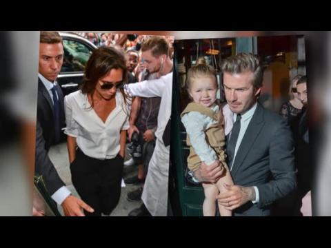 Harper Beckham vole la vedette au défilé de Victoria à la Semaine de la Mode à New York