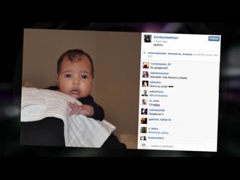 Kanye dévoile la première photo de North West dans le talk show de Kris Jenner