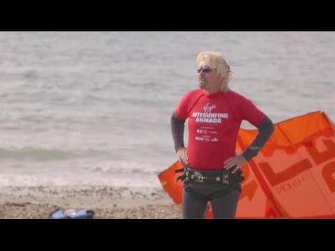 Sir Richard Branson bat un nouveau record