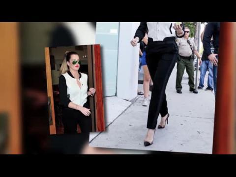 Khloe Kardashian est élégante pour une journée avec Kourtney