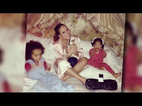 Mariah Carey enlève son attelle pour une soirée avec les jumeaux