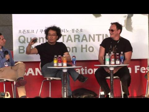 BIFF: rencontre entre Tarantino et Bong
