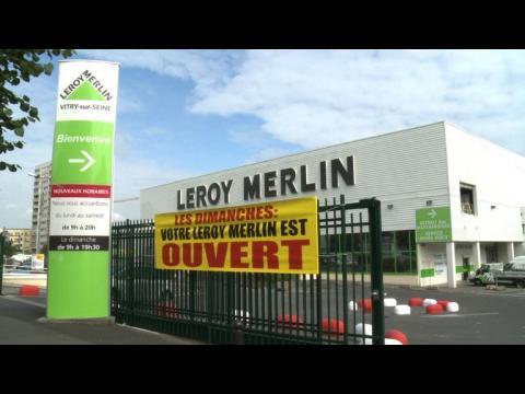 Des enseignes de bricolage ouvrent le dimanche en ile de france sur orange vi - Leroy merlin paris ouvert dimanche ...