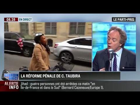 Le parti pris d'Hervé Gattegno : La garde des sceaux, Christiane Taubira a été recadrée par François Hollande – 02/06