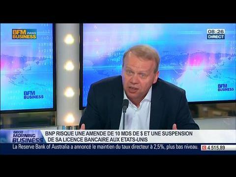 """""""Le développement international d'une banque passe par des transactions monétaires"""", Jean-Pierre Petit dans GMB - 03/06"""