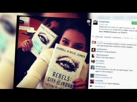 Kendall et Kylie Jenner dans le monde littéraire