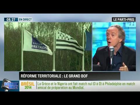 Le parti pris d'Hervé Gattegno : Mécontentement autour du projet de réforme territoriale de François Hollande – 04/06