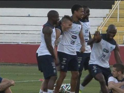 Mondial 2014: J-1 avant le deuxième match, les Bleus sont confiants - 19/06