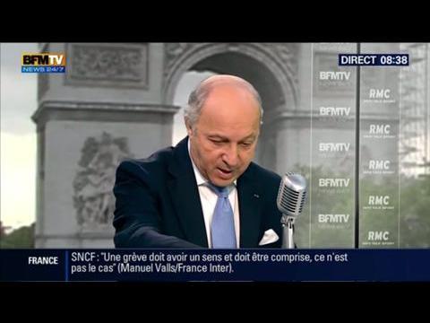 """Laurent Fabius : """"l'EIIL, est encore plus cruel qu'Al Qaida"""""""