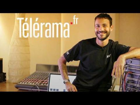 En studio avec Brodinski (Télérama)