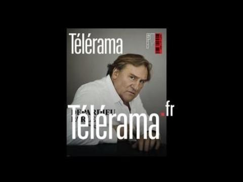 Depardieu parle sur Télérama.fr / Bande annonce