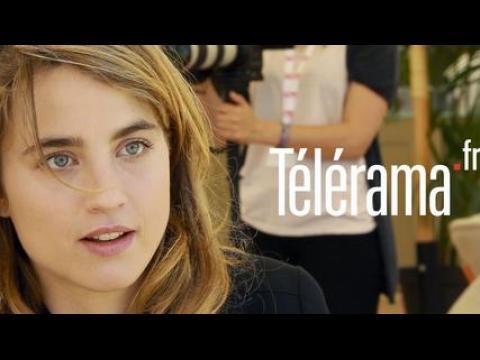Adèle Haenel, entretien post-it - CANNES 2014
