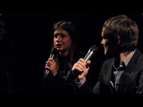Adèle Exarchopoulos au ciné-club de Télérama