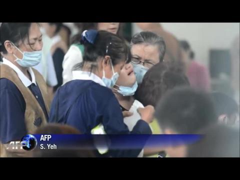Crash à Taïwan: 48 morts, dont deux Françaises