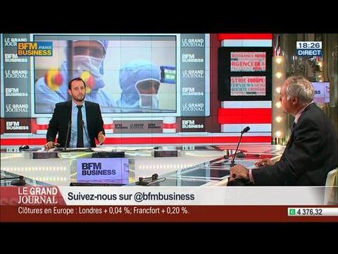 Jean-Marc Chery, directeur général de STMicroelectronics, dans Le Grand Journal - 23/07 2/7
