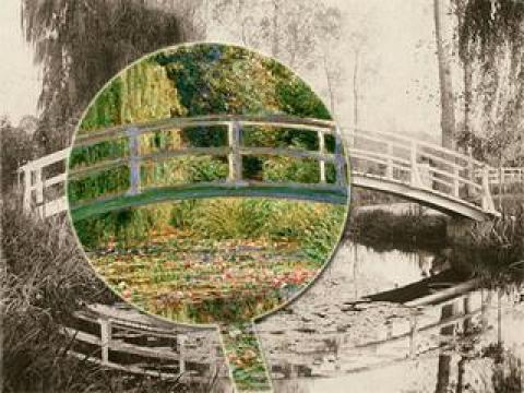 Une œuvre à la loupe : Les Bassins aux nymphéas de Monet