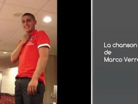 Bizutage au PSG : La chanson de Marco Verratti