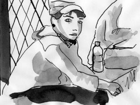 En maraude avec les exilés afghans de Paris (3)
