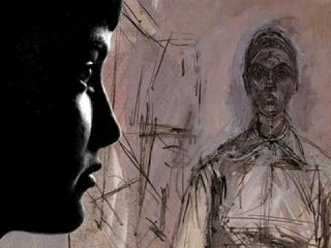 J'ai posé pour Giacometti