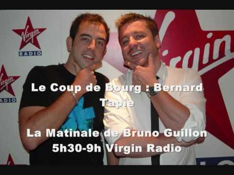Bernard Tapie piégé par Olivier Bourg sur Virgin Radio