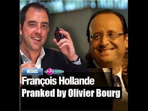 Francois Hollande piégé par Olivier Bourg ! (Prank Call)