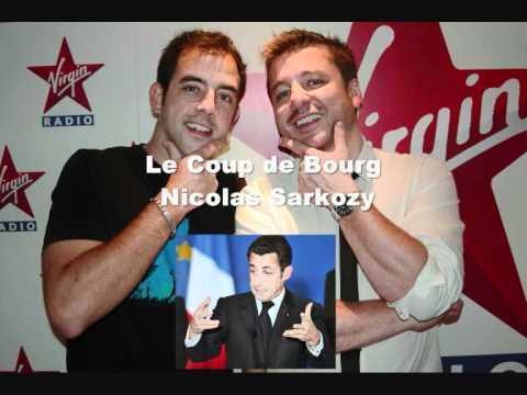 Détournement Nicolas Sarkozy remixé par le Coup de Bourg sur Virgin Radio