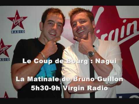 Nagui piégé par Olivier Bourg sur Virgin Radio