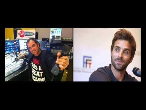 Arnaud Clément et l'aérophagie... Il est piégé par Olivier Bourg sur Fun Radio