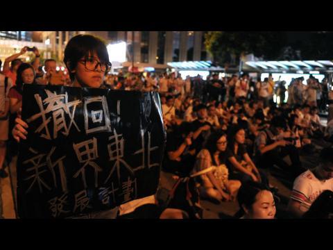 """Hong Kong : """"Nous voulons une véritable démocratie"""""""