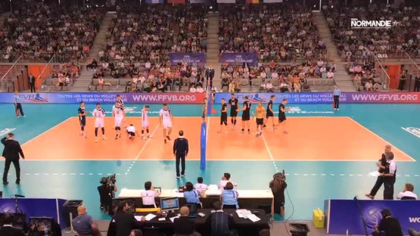 Volley : les Français signent une première défaite