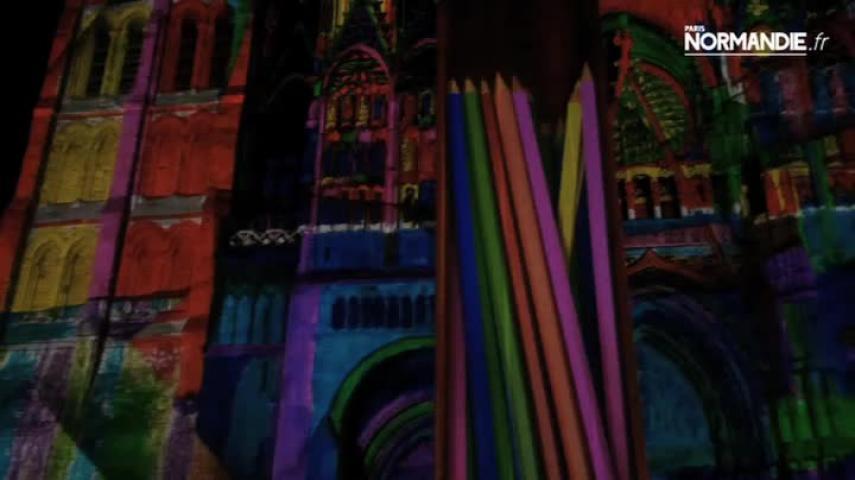 La cathédrale s'habille à nouveau de lumières