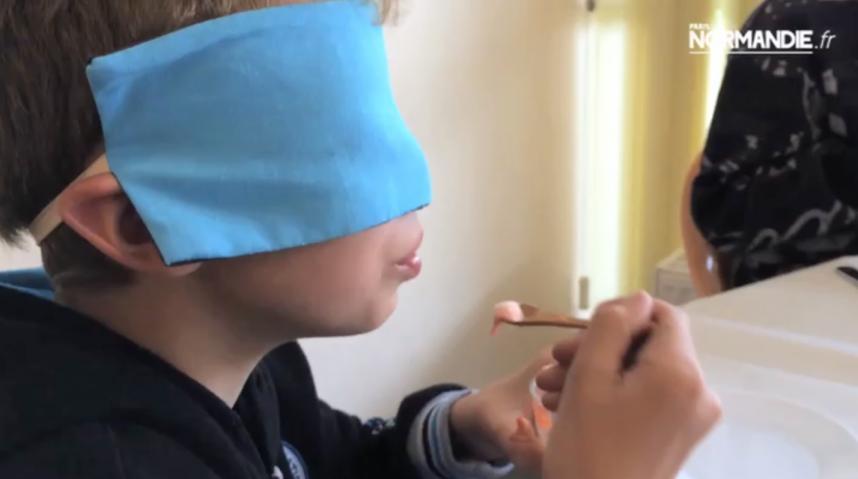 Dégustation à l'aveugle à Gonfreville-l'Orcher