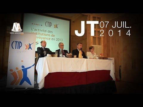JT - 07/07/2014 : Résultats Klesia et CTip - Création de Via Santé (AG2R La Mondiale)