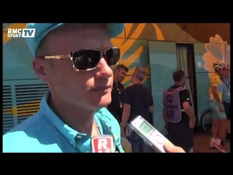 """Cyclisme / Vinokourov : """"Gagner encore du temps sur les concurrents"""" 17/07"""