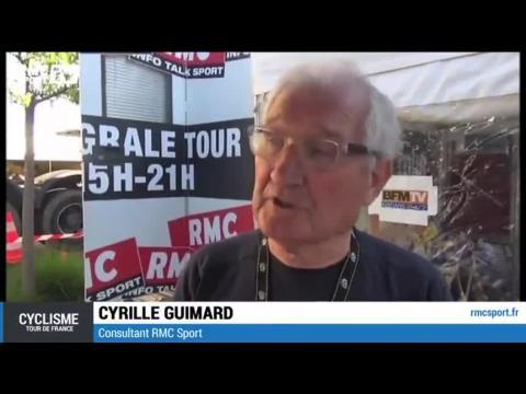 """Cyclisme / Guimard : """"Les Alpes : un premier écrémage"""" 17/07"""