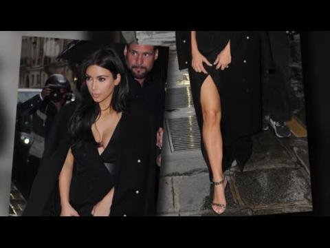 Kim Kardashian dévoile tout à Paris