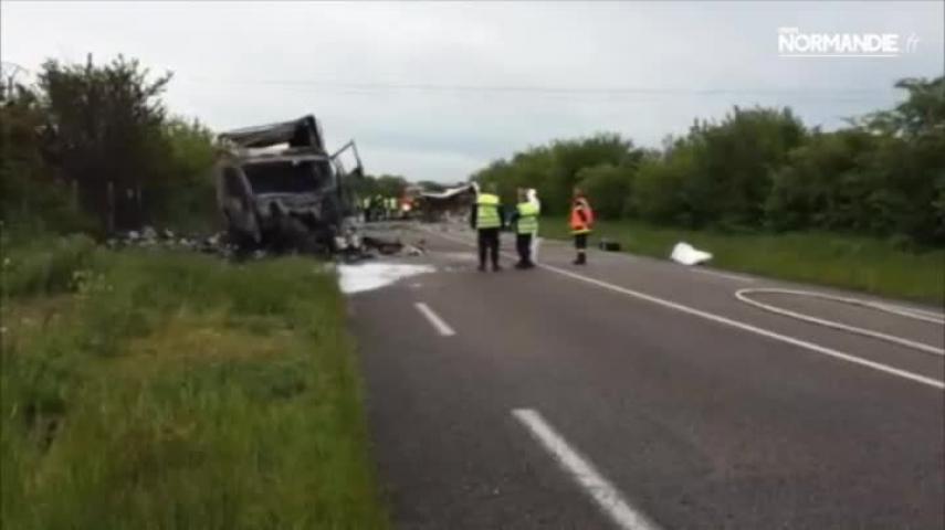 Une violente collision près de Forges-les-Eaux