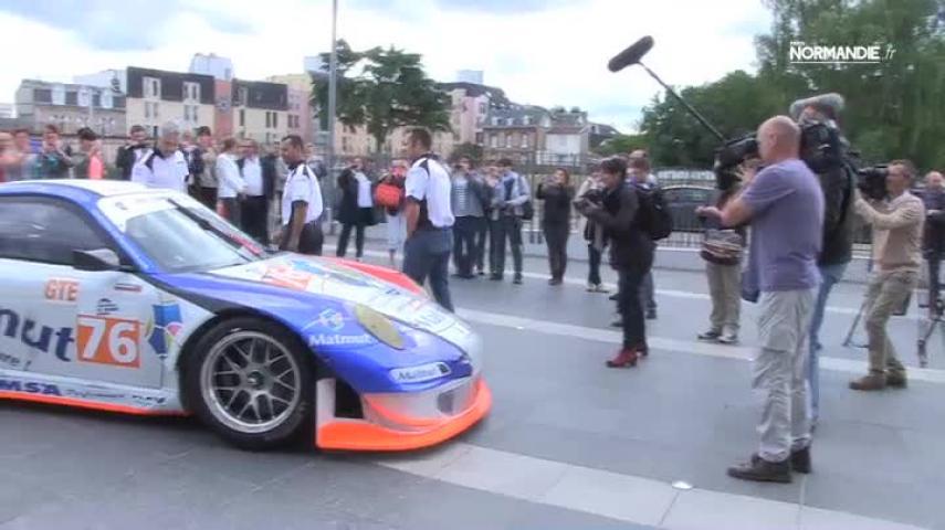 David Hallyday prêt pour les 24h du Mans