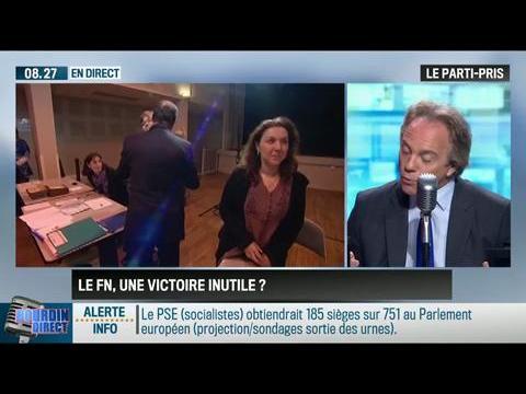 """Le parti pris d'Hervé Gattegno : """"L'incontestable victoire du FN est inutile """" - 26/05"""