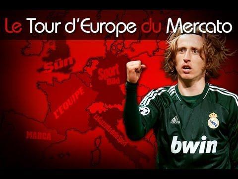 Une offre pour Modric, le feuilleton Bale continue... Le Tour d'Europe du mercato !