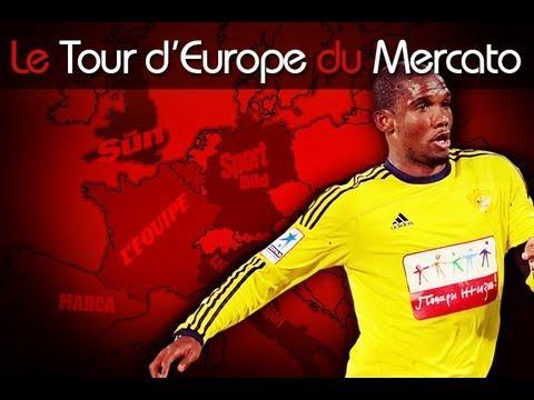 Eto'o arrive à Chelsea, Bale enfin au Real ? Le Tour d'Europe du mercato !