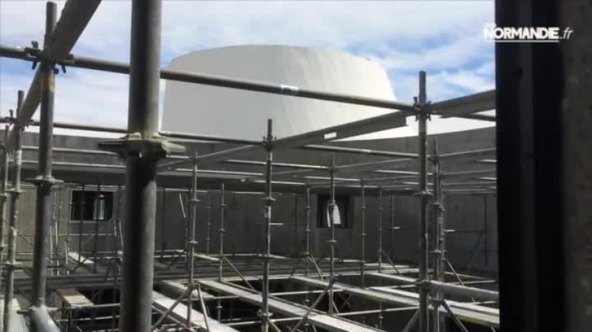 Au Havre, le Volcan poursuit son chantier titanesque