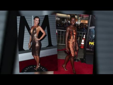 Les tenues métallisées font fureur à Hollywood
