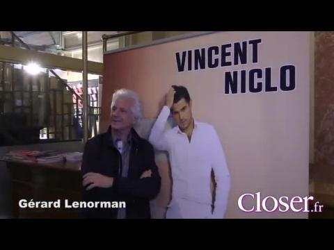 Les people nombreux pour applaudir Vincent Niclo