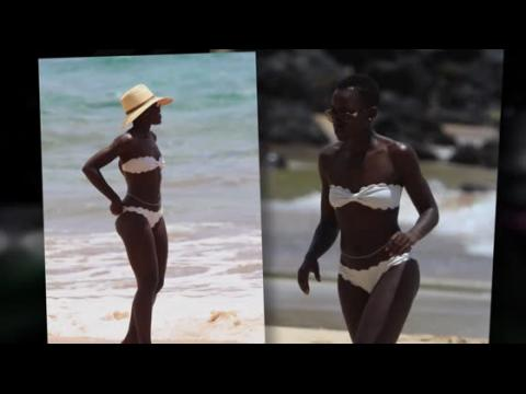 Lupita Nyong'o en bikini