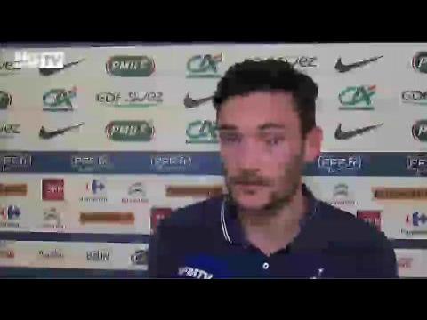 Football / Equipe de France / Entretien avec Hugo Lloris - 11/06